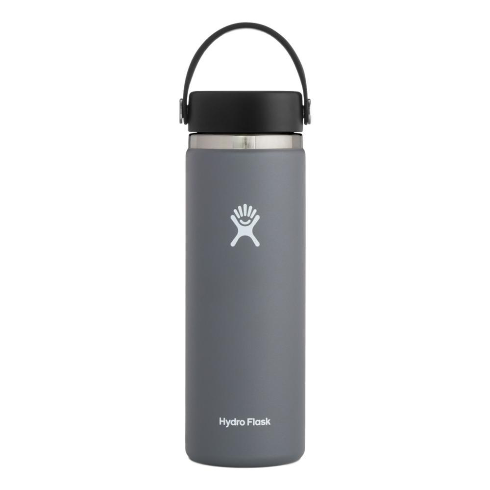 Hydro Flask 20oz Wide Mouth Bottle - Flex Cap STONE