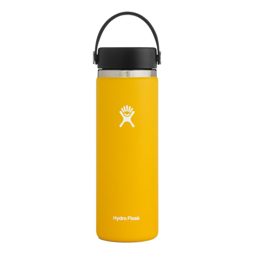 Hydro Flask 20oz Wide Mouth Bottle - Flex Cap SUNFLOWER
