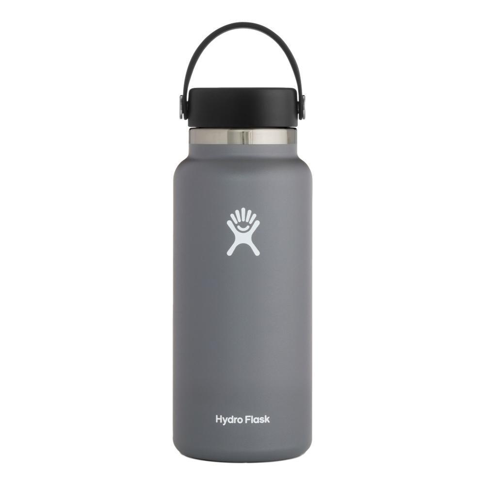 Hydro Flask 32oz Wide Mouth Bottle - Flex Cap STONE