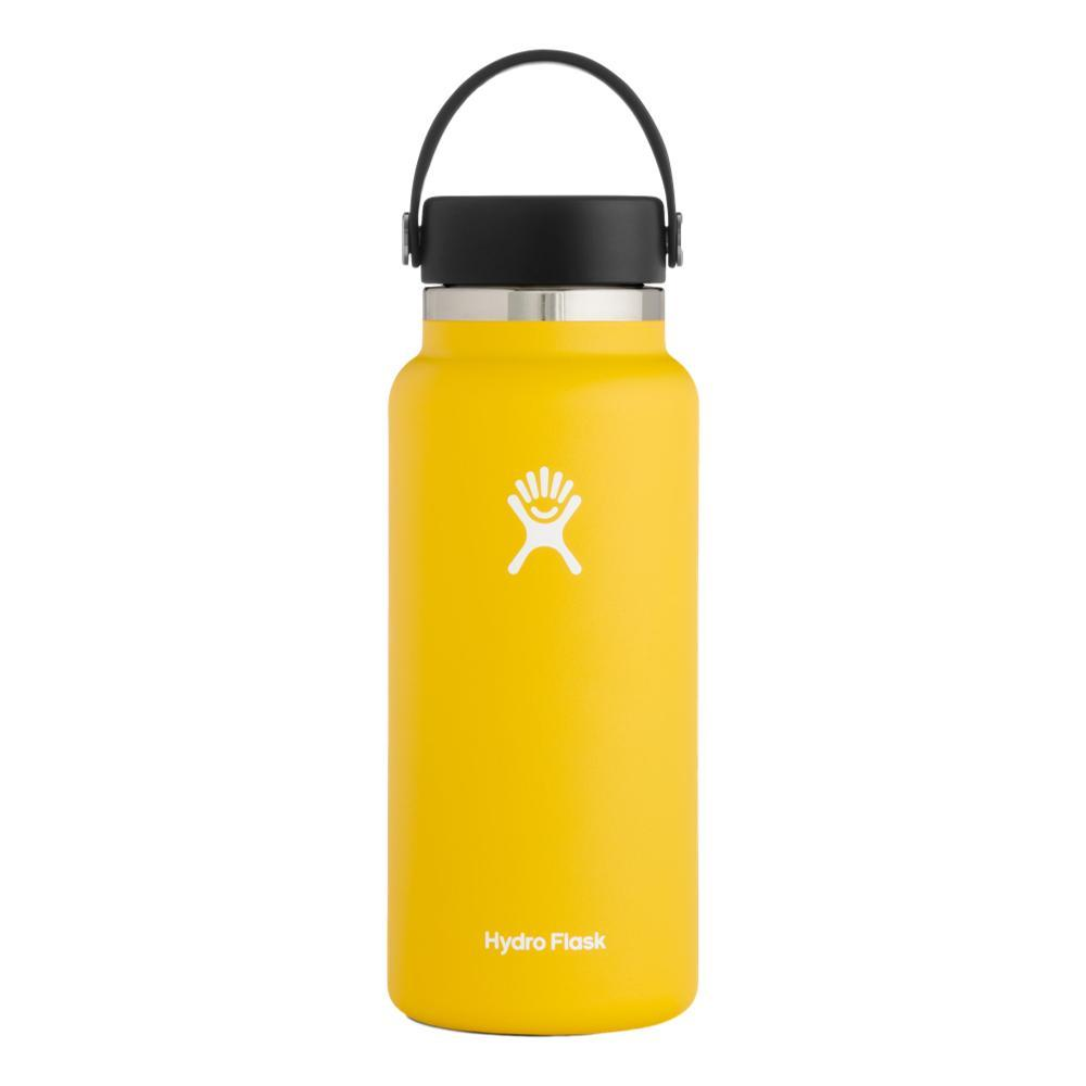Hydro Flask 32oz Wide Mouth Bottle - Flex Cap SUNFLOWER