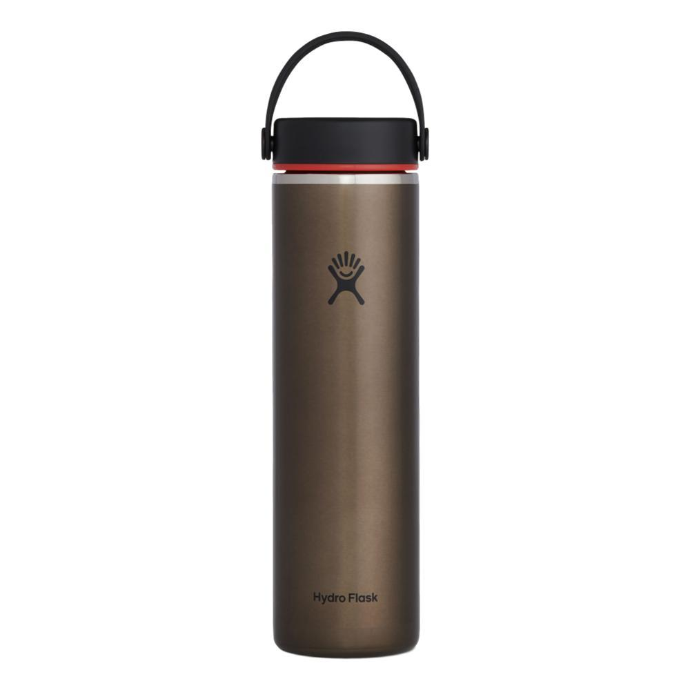 Hydro Flask 24oz Lightweight Wide Mouth Trail Series Bottle OBSIDIAN