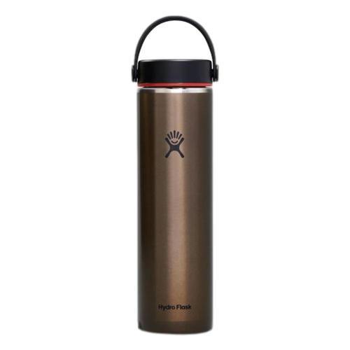 Hydro Flask 24oz Lightweight Wide Mouth Trail Series Bottle Obsidian
