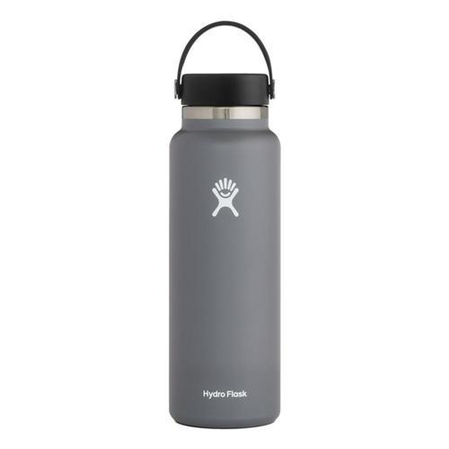Hydro Flask 40oz Wide Mouth - Flex Cap Stone