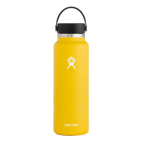 Hydro Flask 40oz Wide Mouth - Flex Cap Sunflower