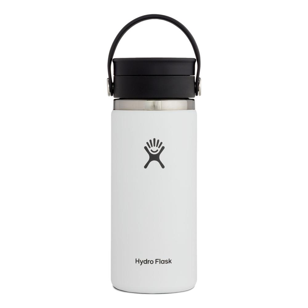 Hydro Flask 16oz Coffee with Flex Sip Lid WHITE