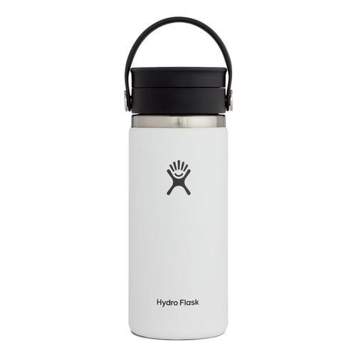 Hydro Flask 16oz Coffee with Flex Sip Lid White