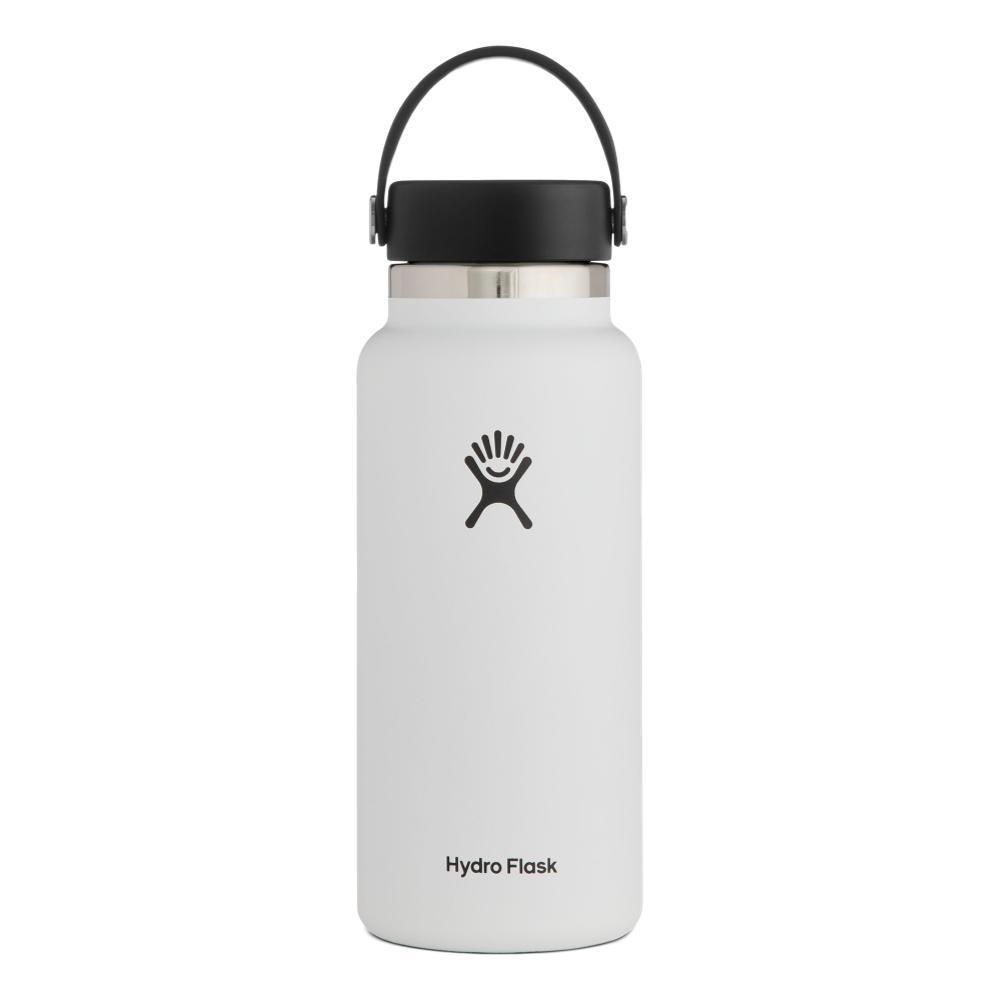 Hydro Flask 32oz Wide Mouth - Flex Cap WHITE