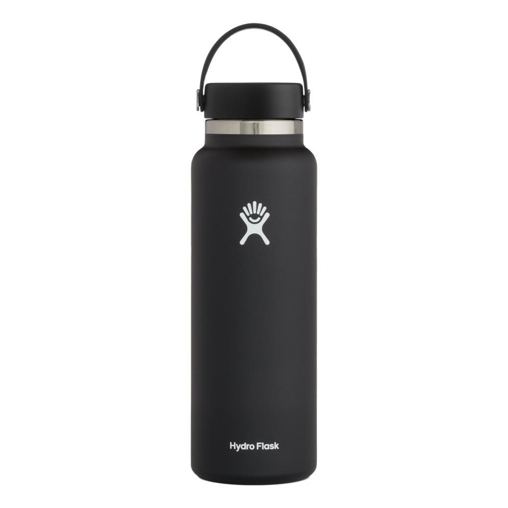 Hydro Flask 40oz Wide Mouth - Flex Cap BLACK