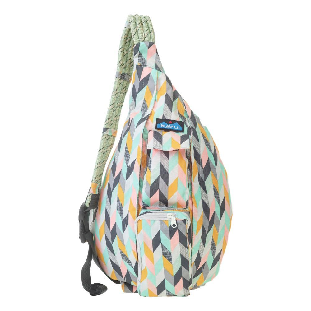 KAVU Rope Sling Bag CHEVR_1173