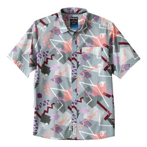 KAVU Men's Festaruski Shirt Banana_1222