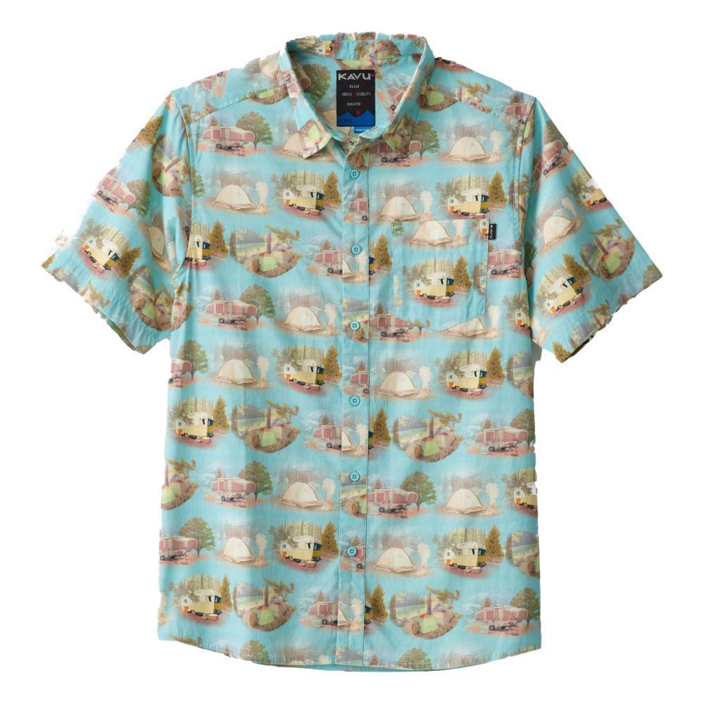 Kavu Men's The Jam Short Sleeve Shirt CAR_1227