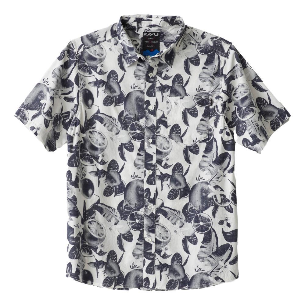 Kavu Men's The Jam Short Sleeve Shirt CITRUS_1226
