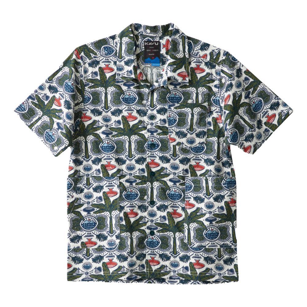 KAVU Men's Double Down Short Sleeve Shirt WAX_1221