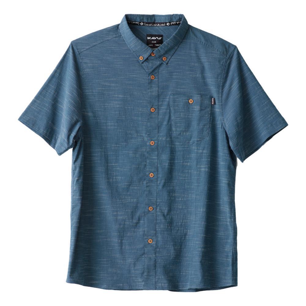 KAVU Men's Welland Short Sleeve Shirt INKWELL_1114