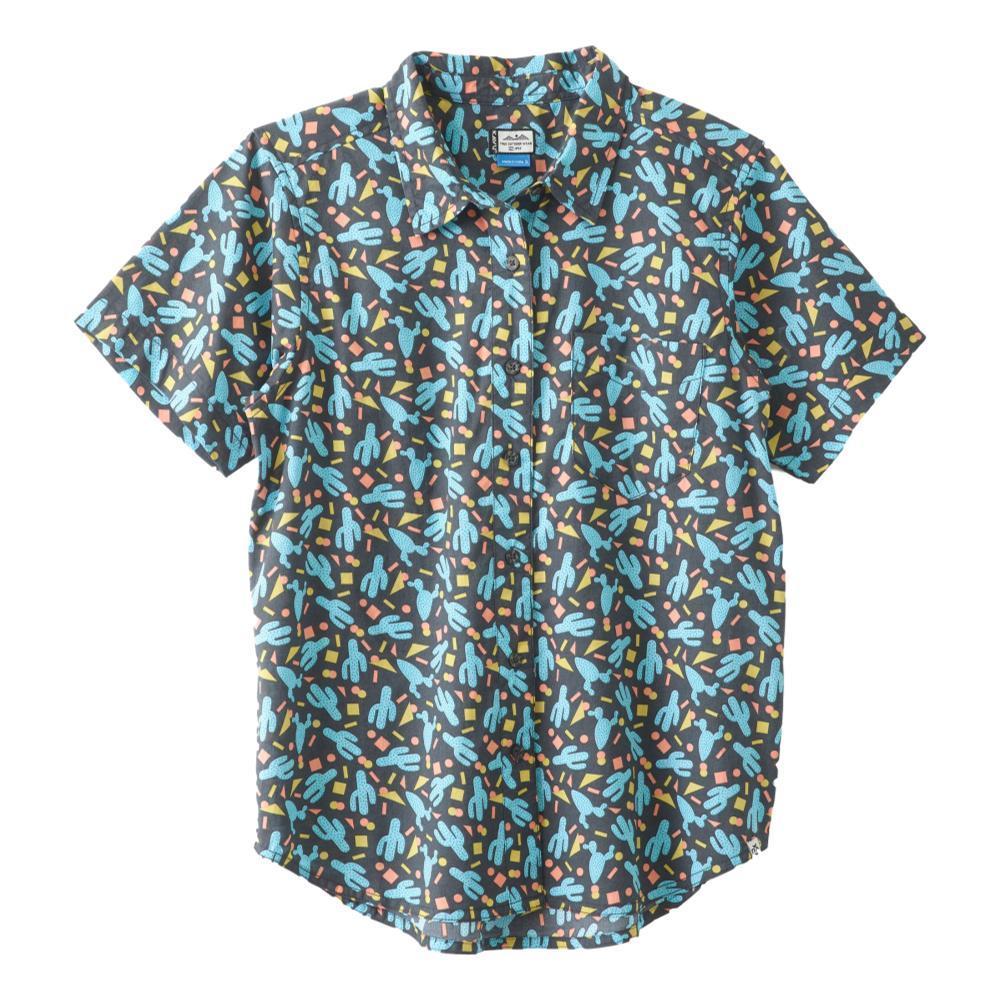 Kavu Women's Girl Party Short Sleeve Shirt CACTUS_1218