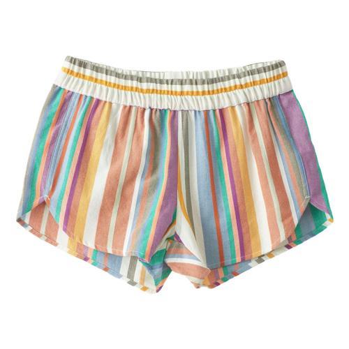 KAVU WomenÕs Aberdeen Shorts Desertstripe_1125