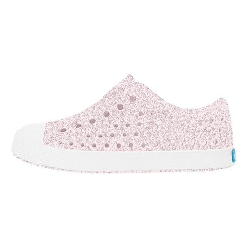 Native Toddler Jefferson Bling Shoes Milkpink