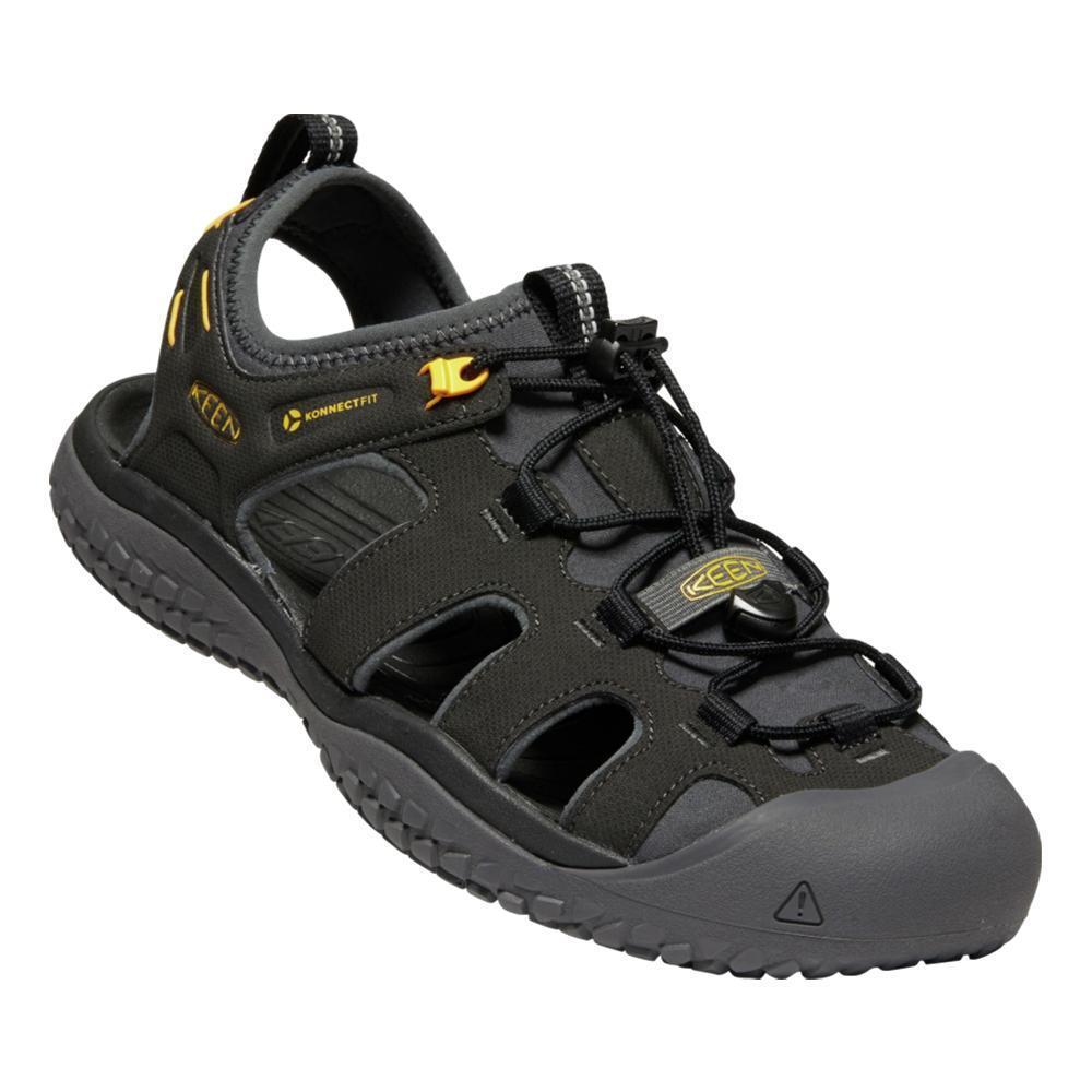 KEEN Men's SOLR Sandals BLK.GOLD