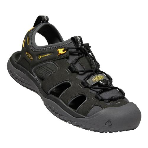 KEEN Men's SOLR Sandals Blk.Gold
