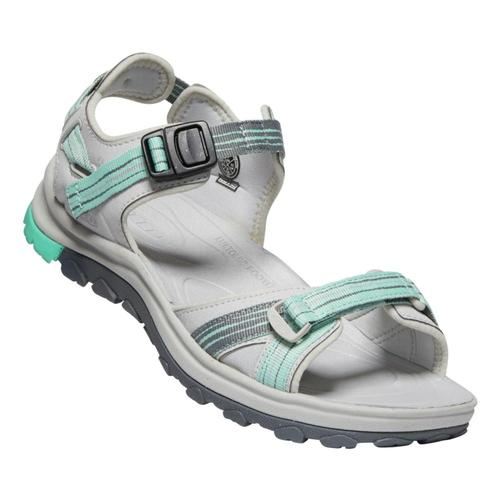 KEEN Women's Terradora II Open Toe Hiking Sandals Ltgry.Ocnwv