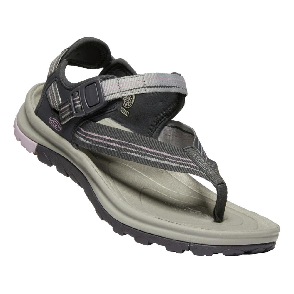 KEEN Women's Terradora II Toe Post Sandals DKGRY.DPNK
