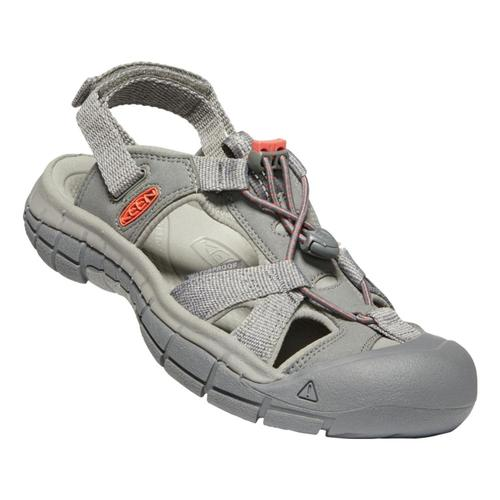 KEEN Women's Ravine H2 Sandals Stgry.Coral