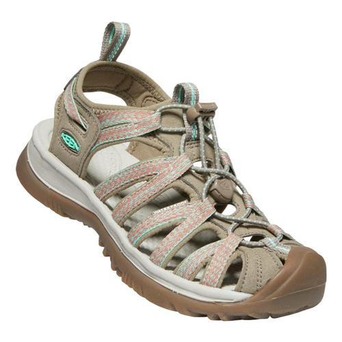 KEEN Women's Whisper Sandals Taup.Coral