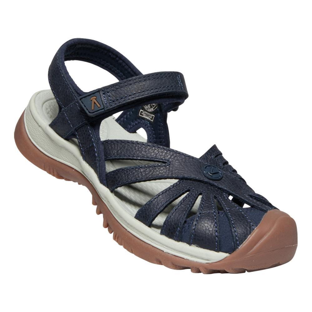 KEEN Women's Rose Leather Sandals NAVY