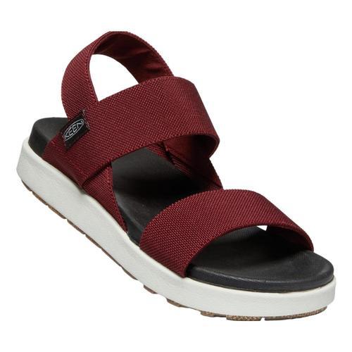 KEEN Women's Elle Backstrap Sandals Firebrick