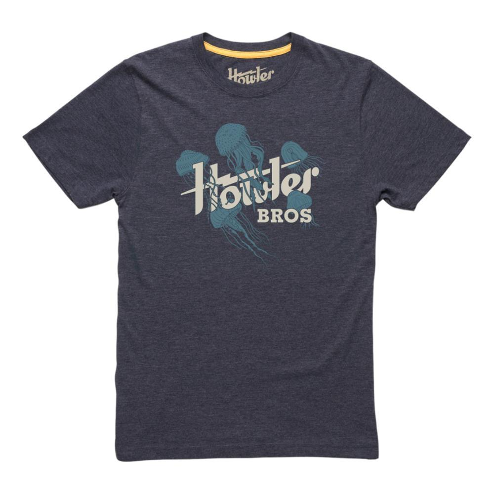 Howler Brothers Men's Jellyfish T-Shirt NAVY