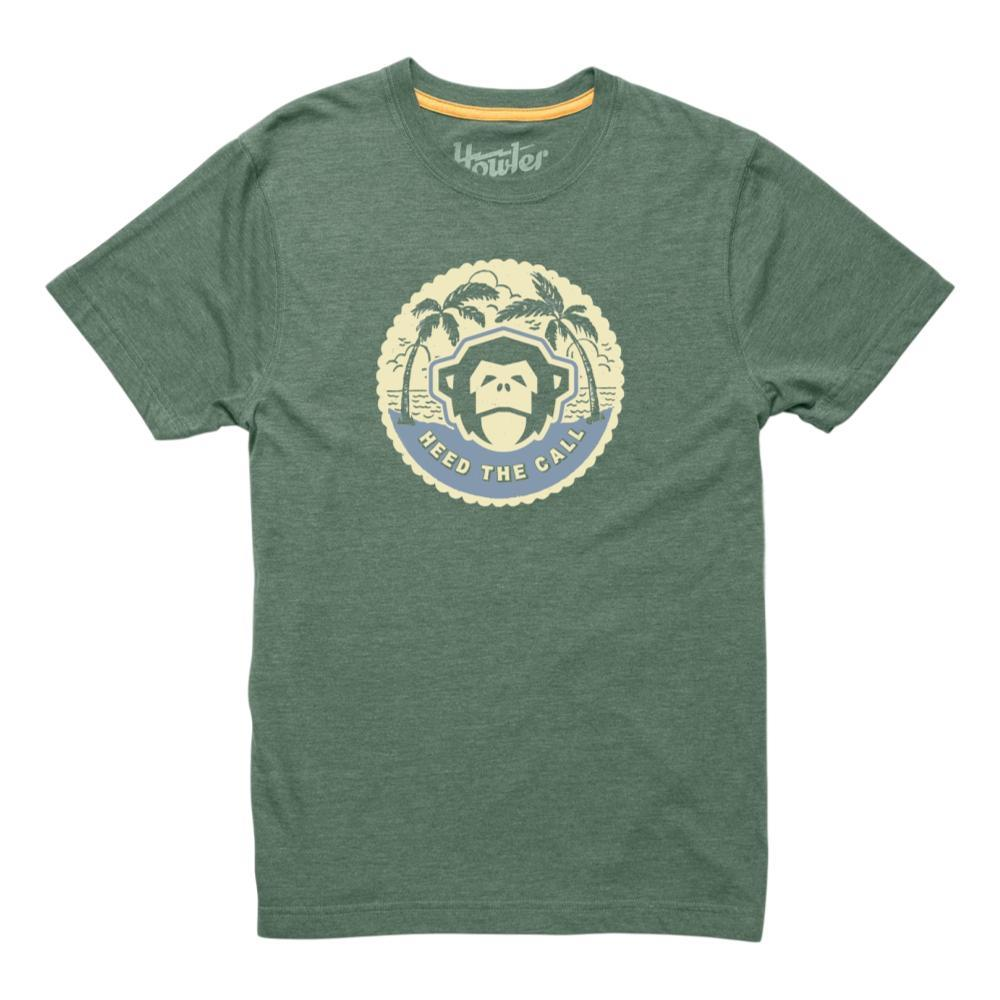 Howler Brothers Men's Mono Medallion T-Shirt FADEDOLIVE
