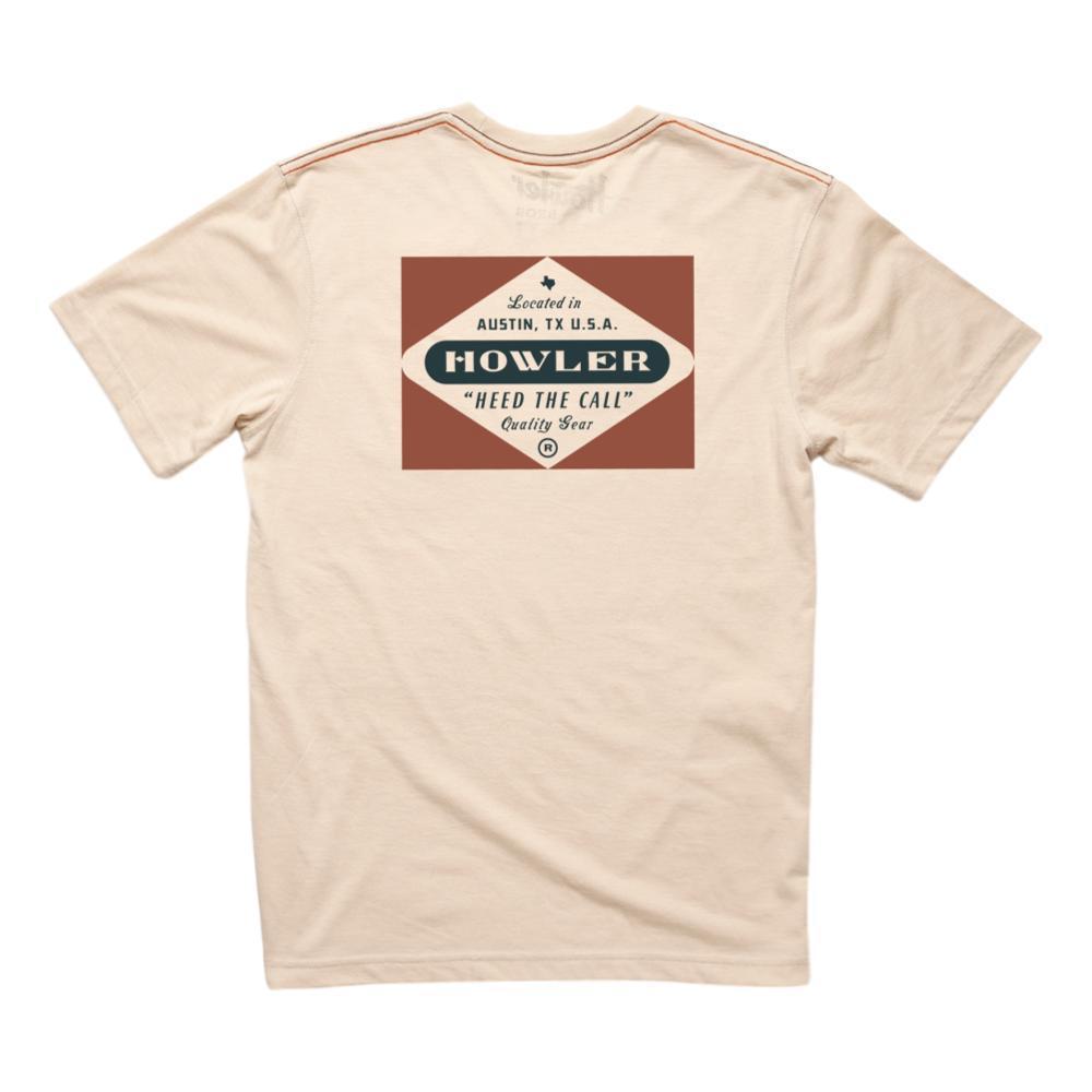Howler Brothers Men's Posse Badge Pocket T-Shirt SAND