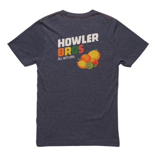 Howler Brothers Men's Howler Citrus Pocket T-Shirt Navy