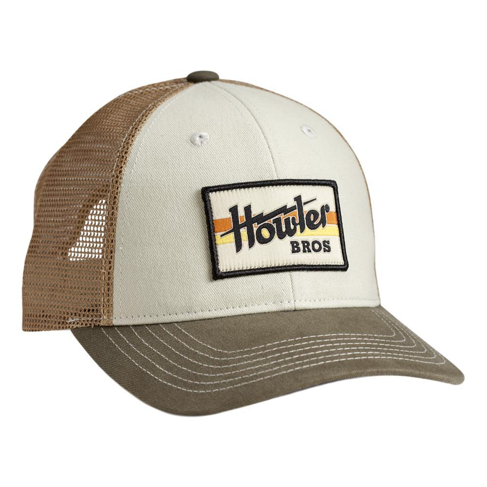 Howler Brothers Electric Stripe Snapback Hat STONEGOLD