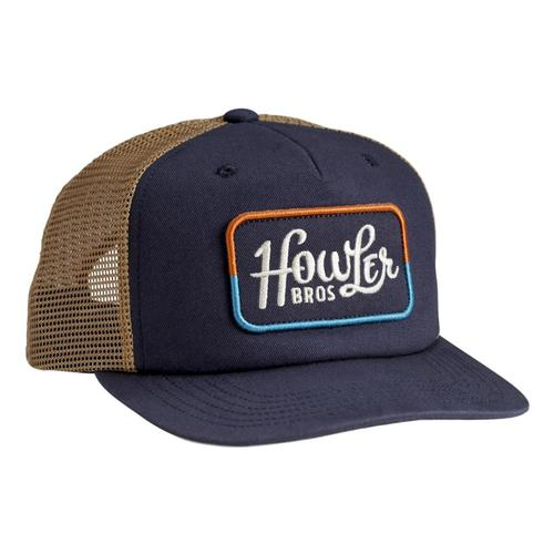 Howler Brothers Howler Classic Snapback Hat Navygold