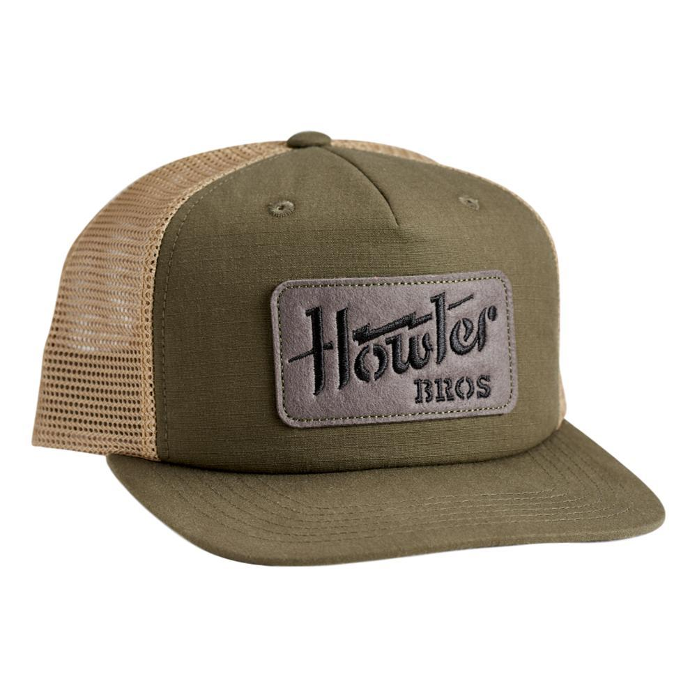 Howler Brothers Howler Electric Stencil Snapback Hat FATIGUE