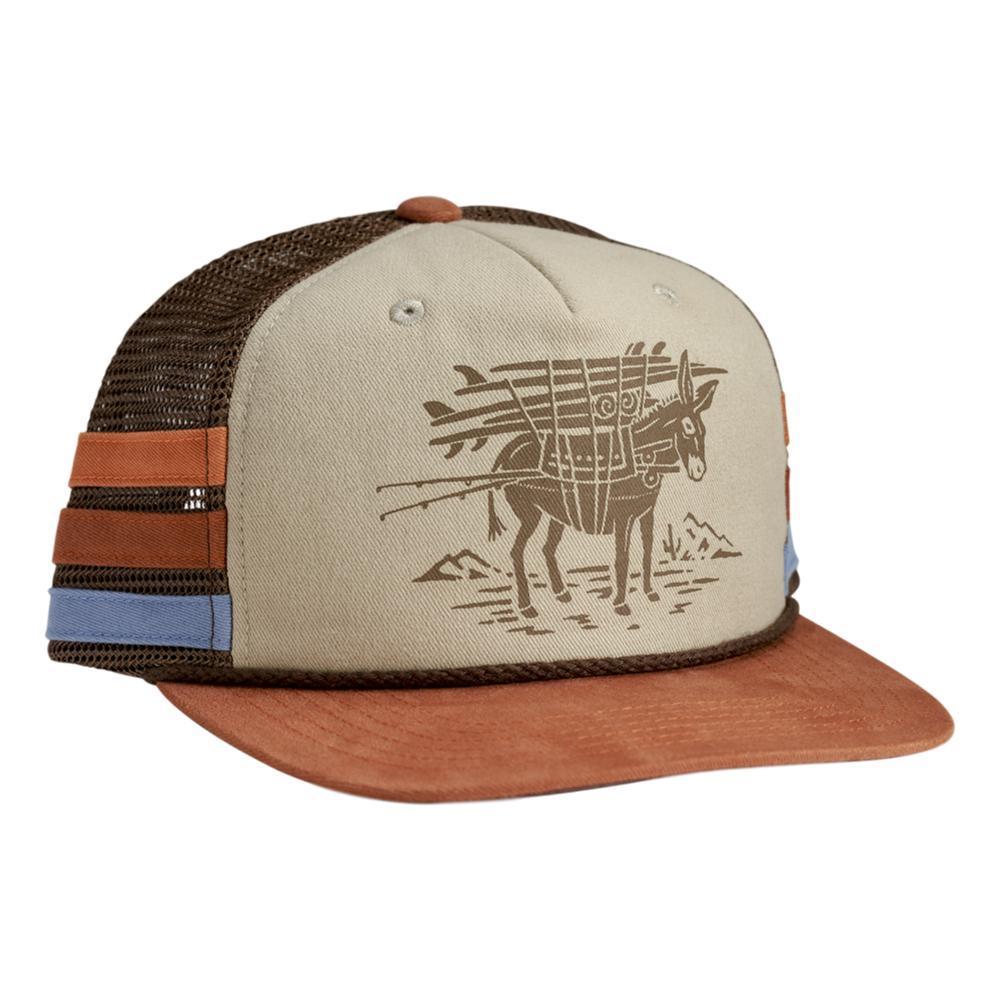 Howler Brothers Burro Snapback Hat KHAKIRUST