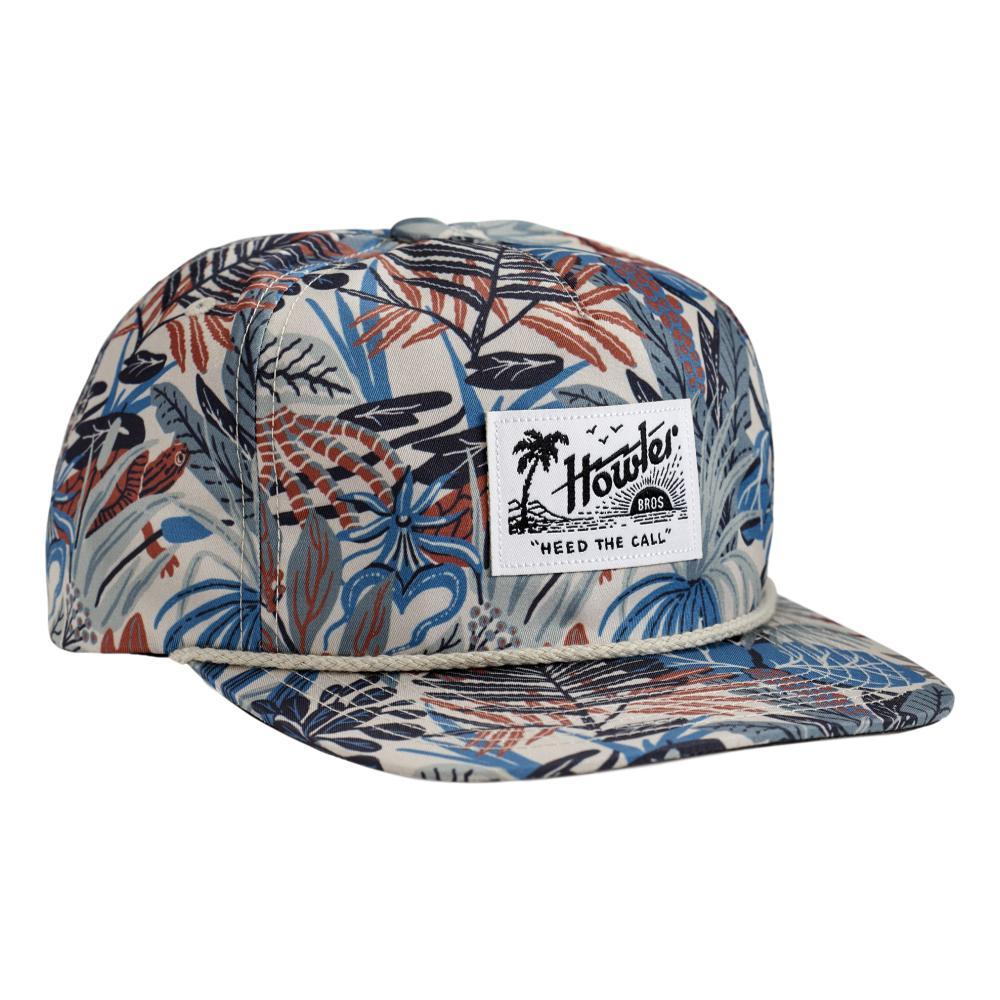 Howler Brothers Everglades Snapback Hat OFFWHITE