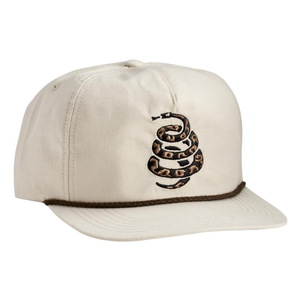 Howler Brothers Cottonmouth Snapback Hat OFFWHITE
