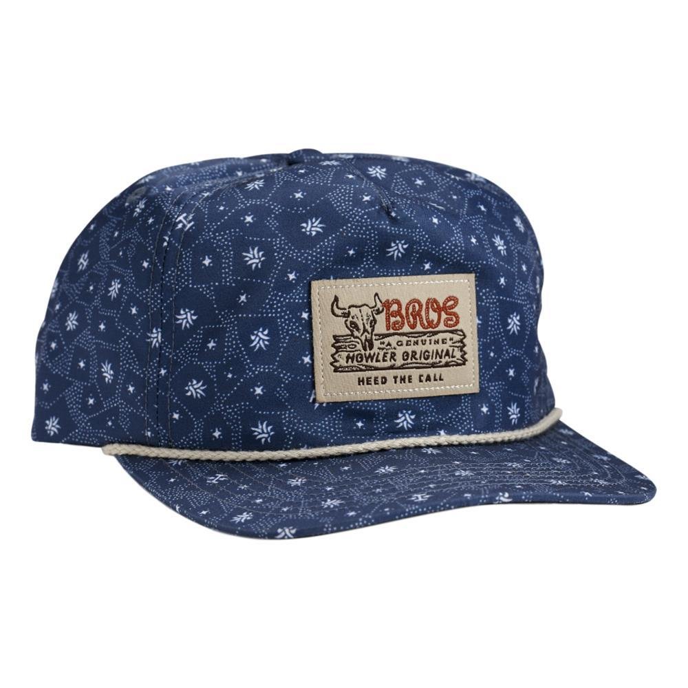 Howler Brothers Little Agave Snapback Hat NAVY