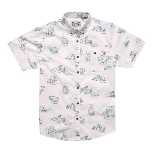 Howler Brothers Men's Mansfield Shirt Glfwhite_gmw