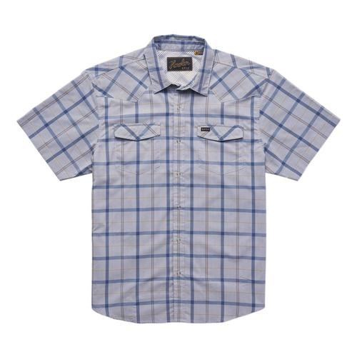 Howler Brothers Men's H Bar B Tech Shirt Pigeongry_mps