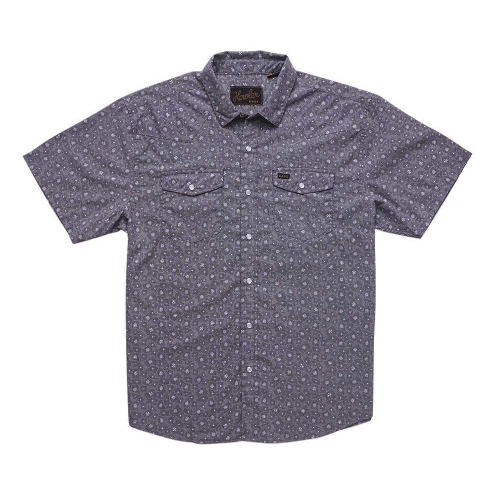 Howler Brothers Men's H Bar B Snapshirt - Grainfields Print LAPBLUE_SFB