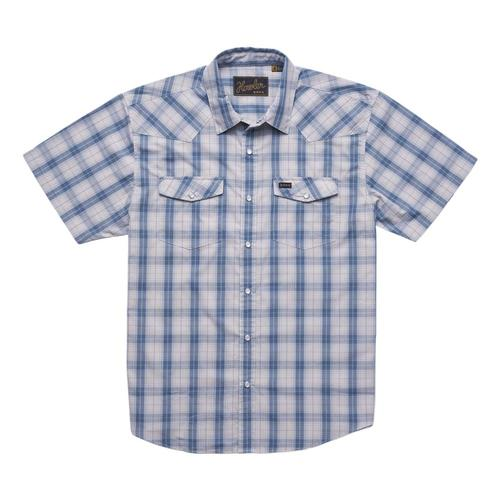 Howler Brothers Men's H Bar B Snapshirt - Brooks Plaid Nechesblu_nps