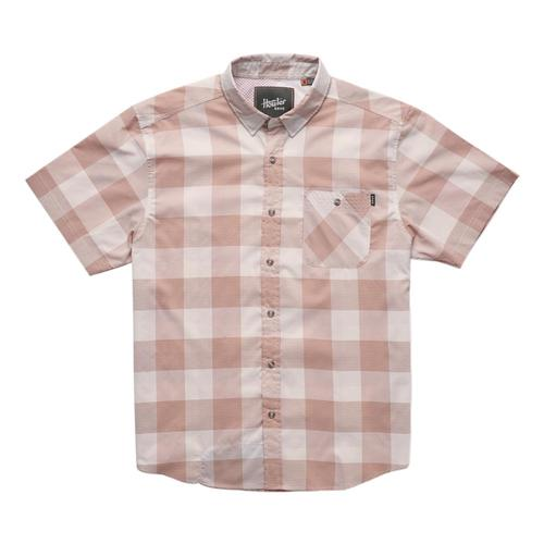 Howler Brothers Men's Airwave Shirt Coral_mgc