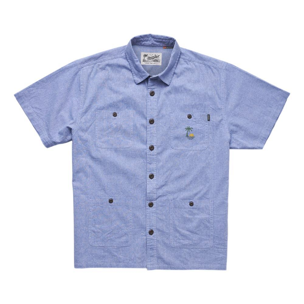 Howler Brothers Men's Voyager Shirt SAPPHIRE_LBC