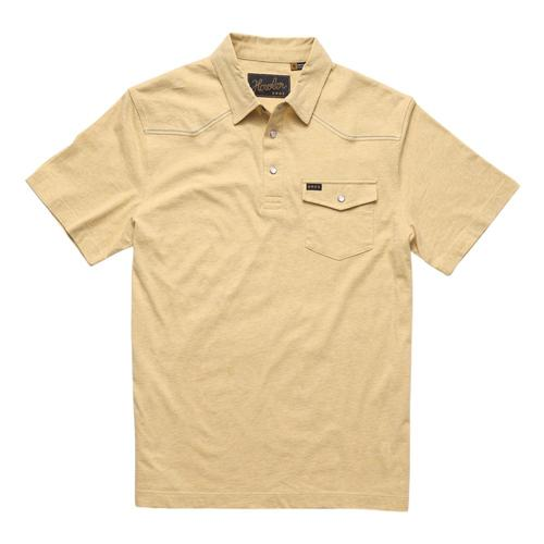 Howler Brothers Men's Ranchero Polo Shirt Sunflowr_sfh