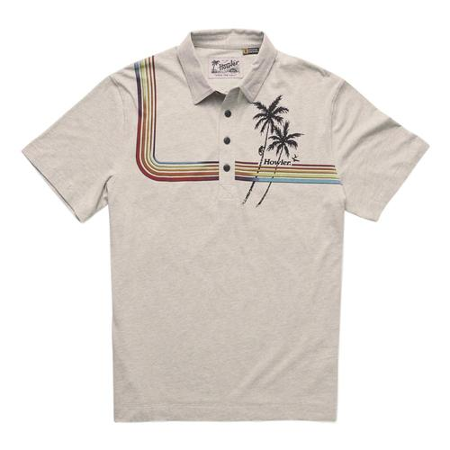 Howler Brothers Men's Rookery Polo Shirt Palmcream_lgh