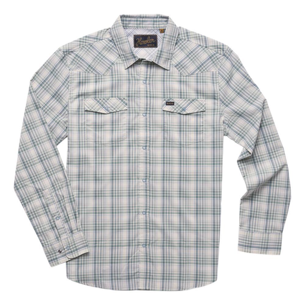 Howler Brothers Men's H Bar B Tech Longsleeve Shirt BPGREEN_BPO