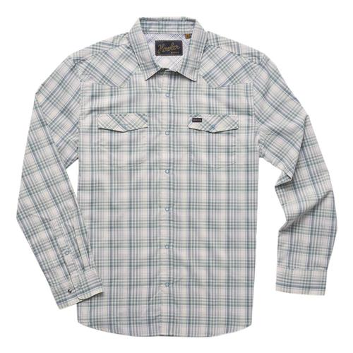 Howler Brothers Men's H Bar B Tech Longsleeve Shirt Bpgreen_bpo